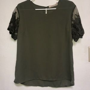 Liberty Love olive blouse
